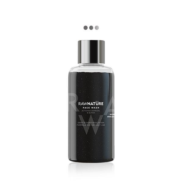 Face Wash -Activated Charcoal & Quinoa - Mini