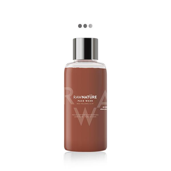 Face Wash - Volcanic Red Clay - Mini