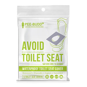 PeeBuddy - Waterproof Toilet Seat Cover