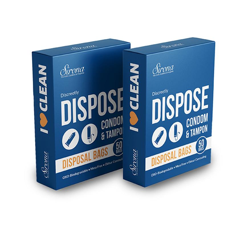 Disposal Bags for Discreet Disposal (Pack of 2)