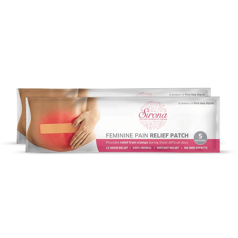Feminine Pain Relief Patches (Pack of 2)