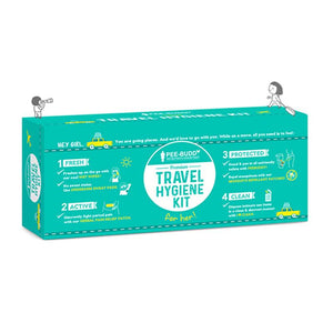 PeeBuddy Premium Travel Hygiene Kit For Her