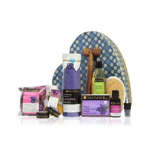 Heart Gift Set with Lavender