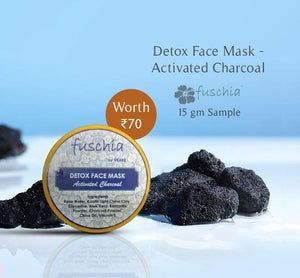 Detox Face Mask - Activated Charcoal 15gm