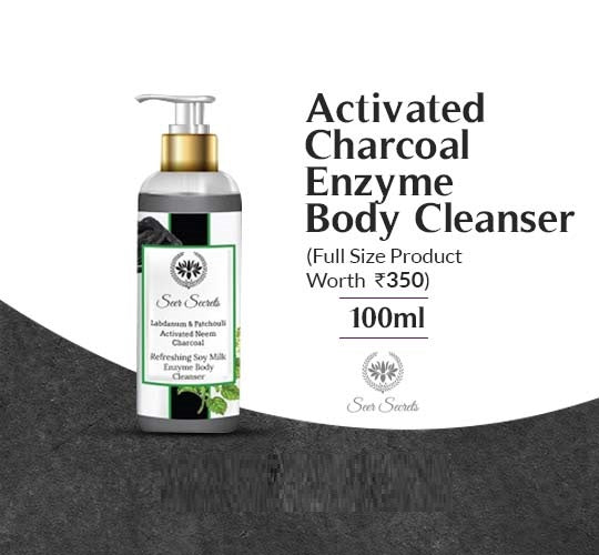 Activated Charcoal Enzyme Body Cleanser