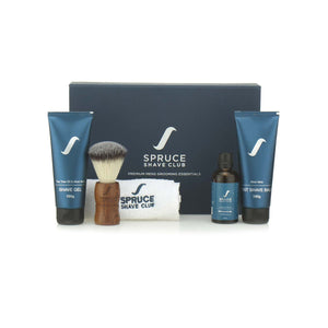 Shaving Essentials Kit - Tea Tree