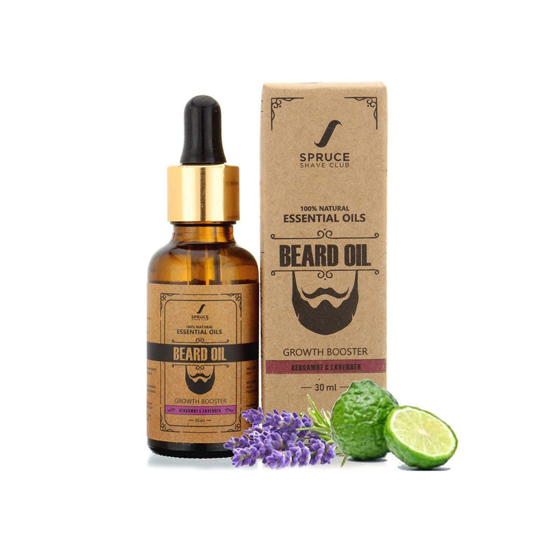 Bergamot & Lavender - Beard Growth Oil
