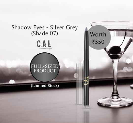 Shadow Eyez- Silver Grey - Shade 07