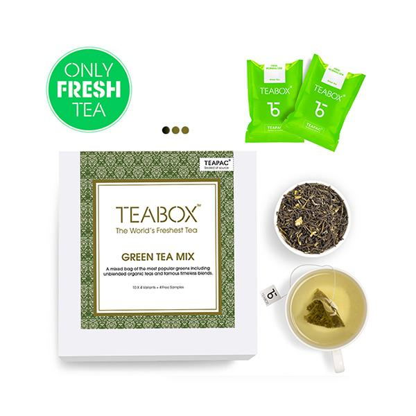 Green Tea Sampler (12 Varieties)