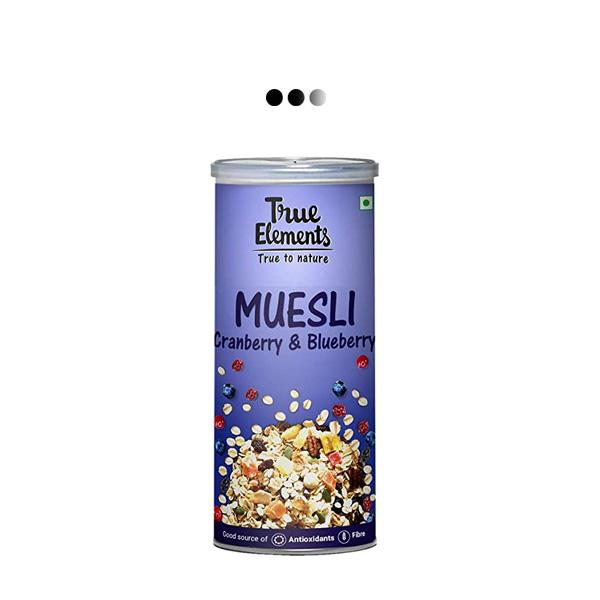Cranberry And Blueberry Muesli