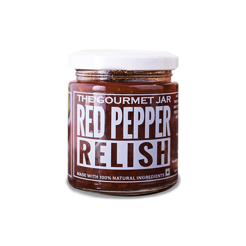 Food & Beverages - Red Pepper Relish