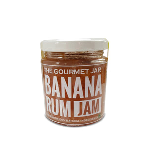 Food & Beverages - Banana Rum Jam