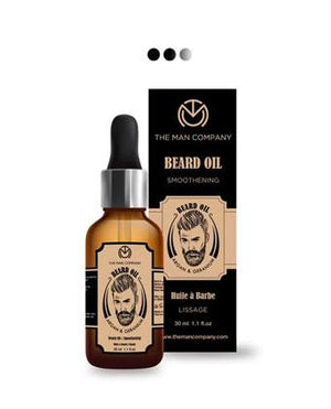 Beard Oil-Argan & Geranium Hair Oil
