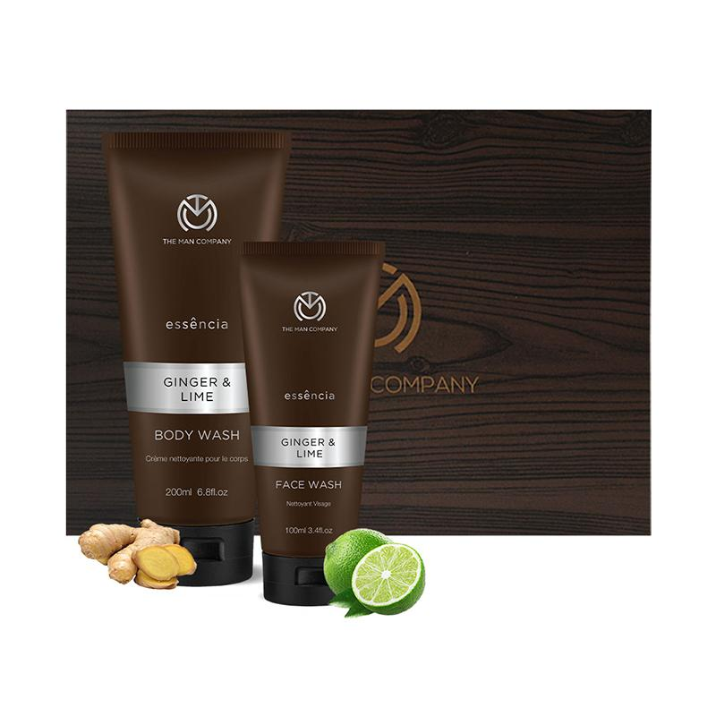 Ginger and Lime Grooming Kit