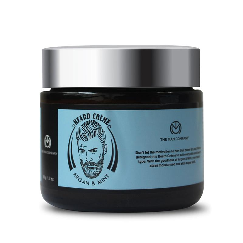 Beard & Moustache Cream - Argan and Mint
