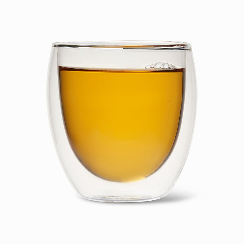 Valencia Insulated Glass Teacup