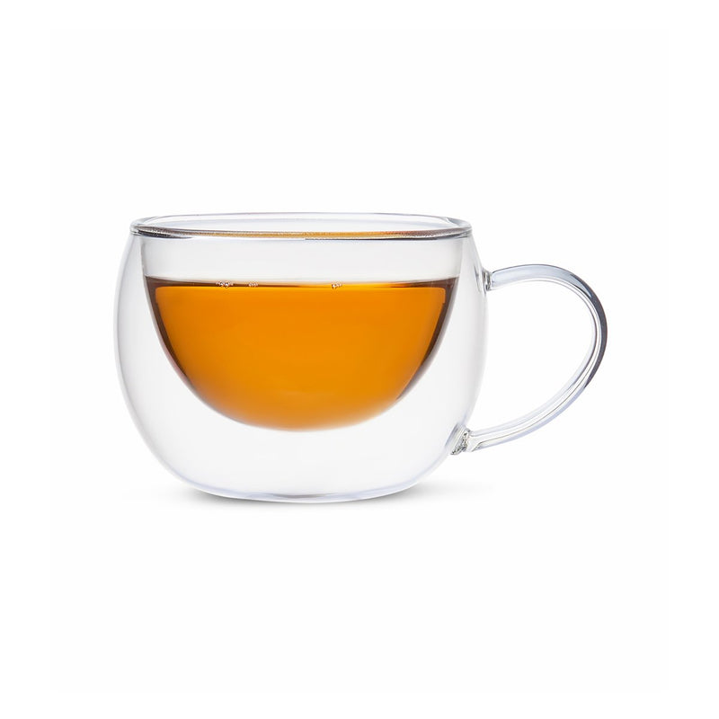 Duple Insulated Glass Teacup