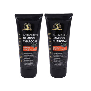 Activated Bamboo Charcoal Purifying Face Wash Combo