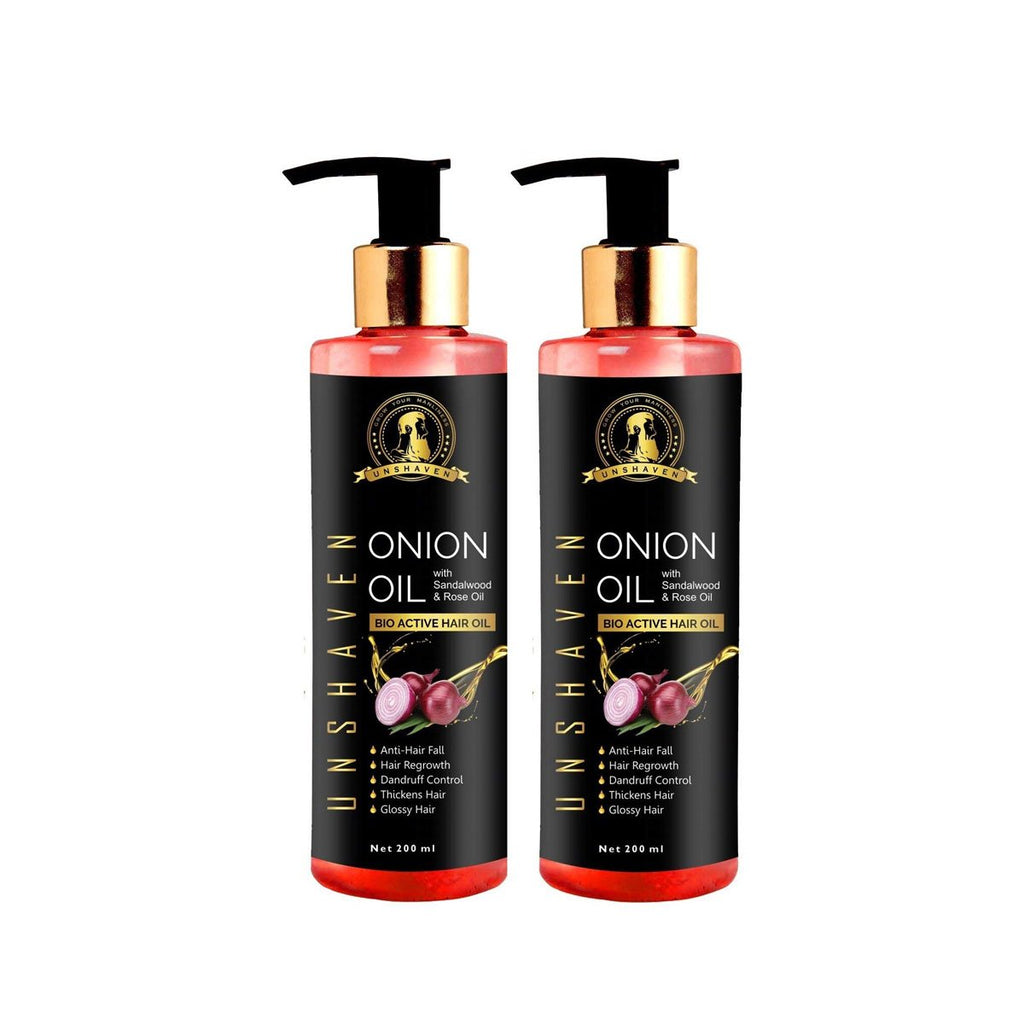 Onion Oil With Sandalwood & Rose Oil Combo