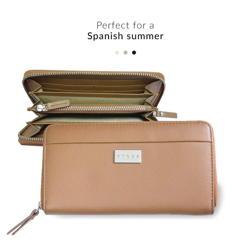 Accessories - Zip Round Wallet - Spanish Summer