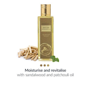 After Bath Oil - After Bath Oil - Sandalwood & Patchouli