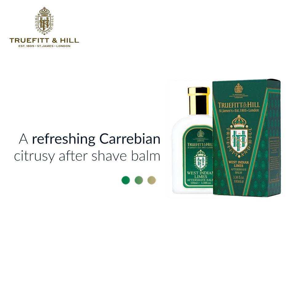 West Indian Limes Aftershave Balm from  Truefitt & Hill | Smytten