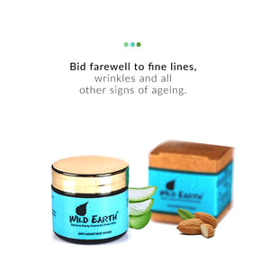 Wild Earth Anti Aging Face Cream from  Wild Earth | Smytten