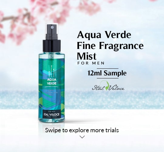 Aqua Verde Fine Fragrance Mist For Men- 12ml
