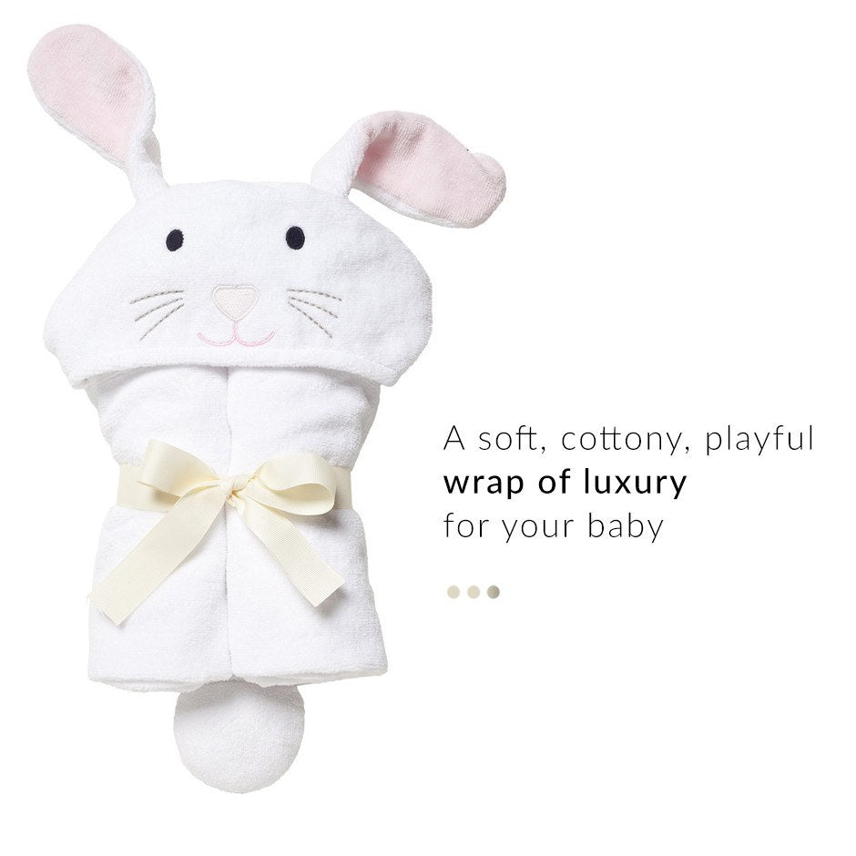 Bunny Hooded Baby Towel on Smytten | Baby Care | IndulgeVille