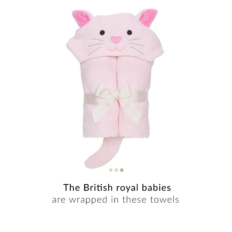 Baby Care - Kitty Hooded Baby Towel
