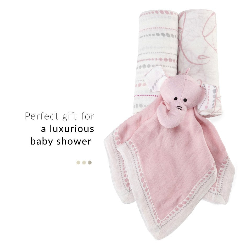 Baby Care - Pink 3 Piece Gift Set