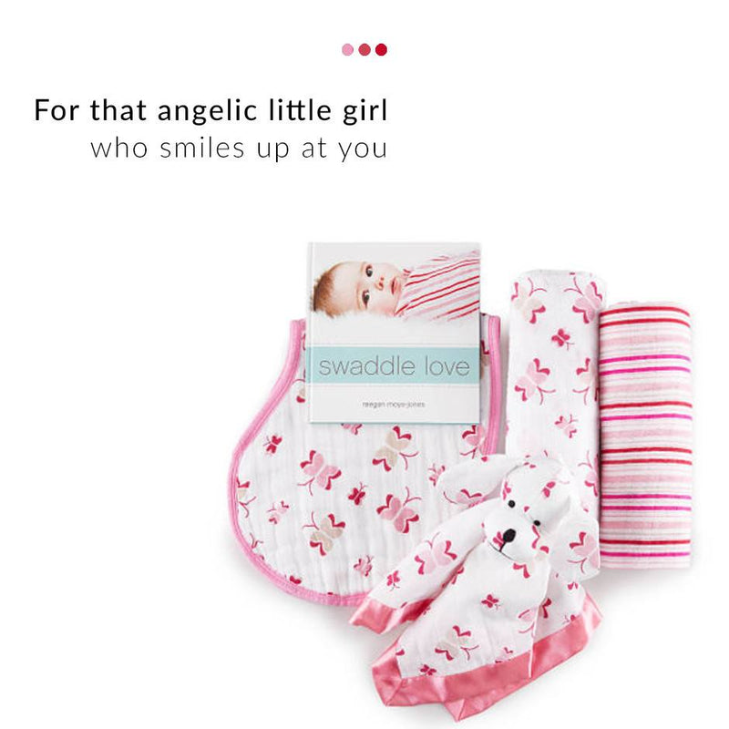 Baby Care - Pink 4 Piece Gift Set