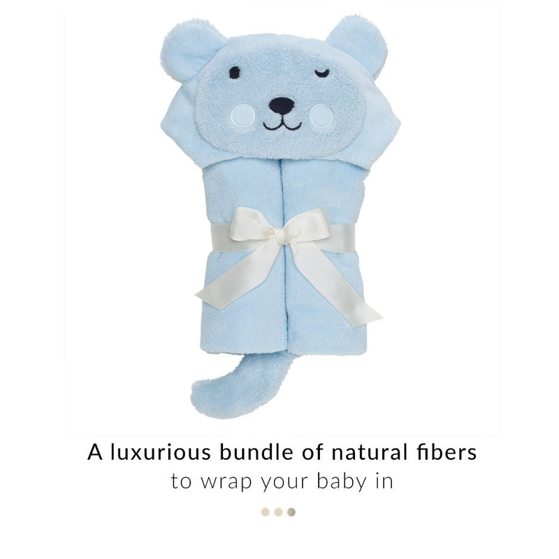 Baby Care - Teddy Hooded Baby Towel