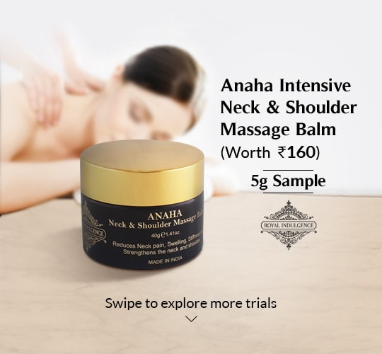Anaha Intensive Neck & Shoulder Massage Balm