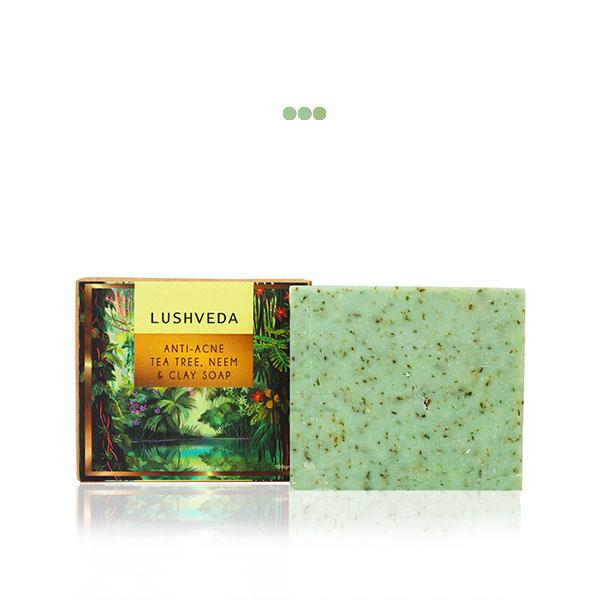 Bath And Shower - Anti-acne Tea Tree, Neem & Clay Soap