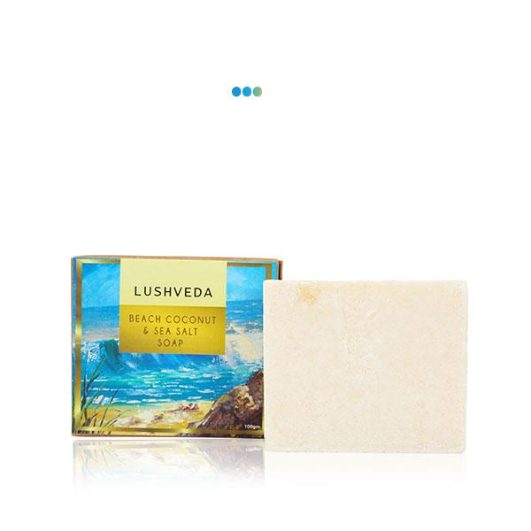 Bath And Shower - Beach Coconut & Sea Salt Soap