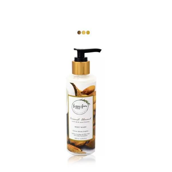 Bath And Shower - Coconut Almond Body Wash With Milk & Honey