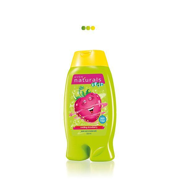 Bath And Shower - Naturals Kids Little Delights Swirling Strawberry 2-in-1 Body Wash