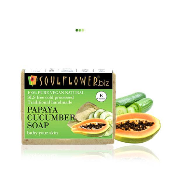 Bath And Shower - Papaya Cucumber Soap
