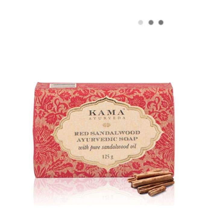 Bath And Shower - Red Sandalwood Ayurvedic Soap