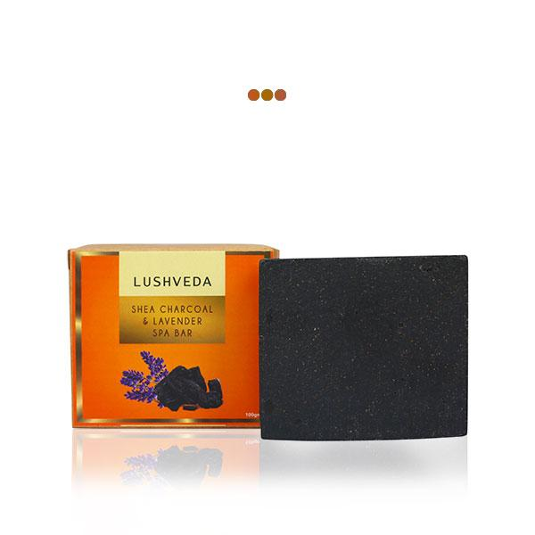Bath And Shower - Shea Charcoal & Lavender Spa Bar