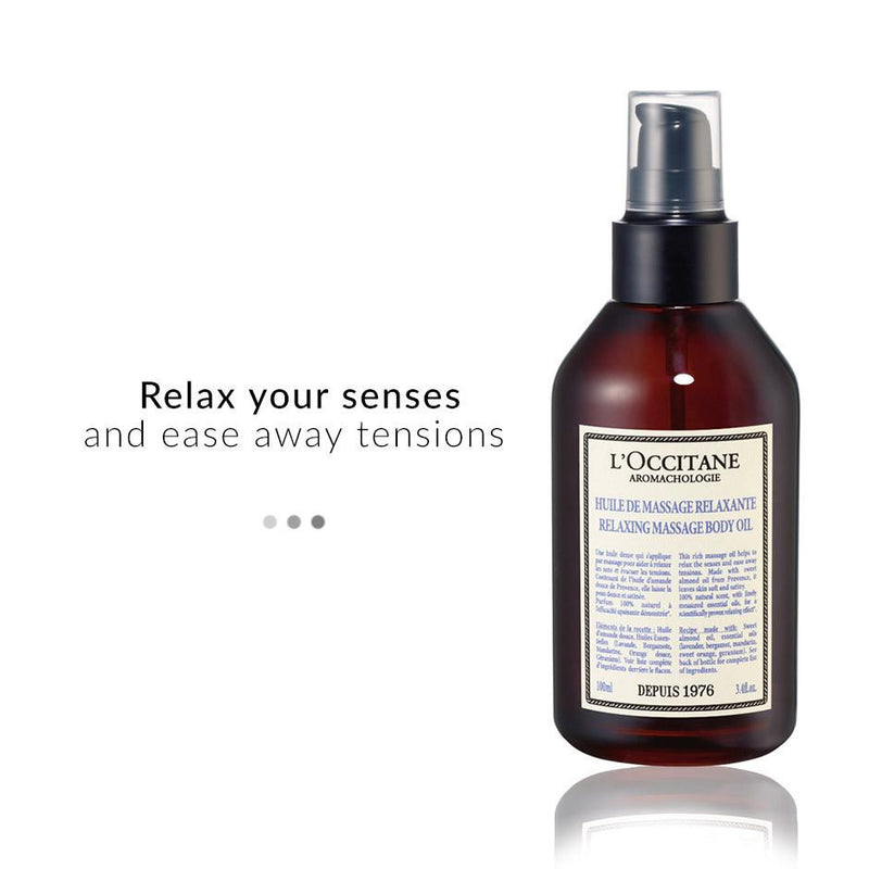 Bath & Body - AROMACHOLOGIE Relaxing Massage Oil