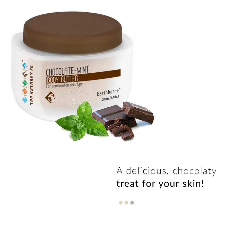 Chocolate Mint Body Butter on Smytten | Bath & Body | The Nature's Co