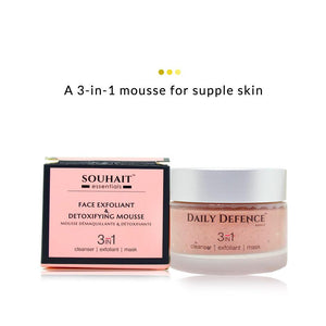 Face Exfoliant & Detoxifying Mousse | Souhait Essentials | Shop on Smytten