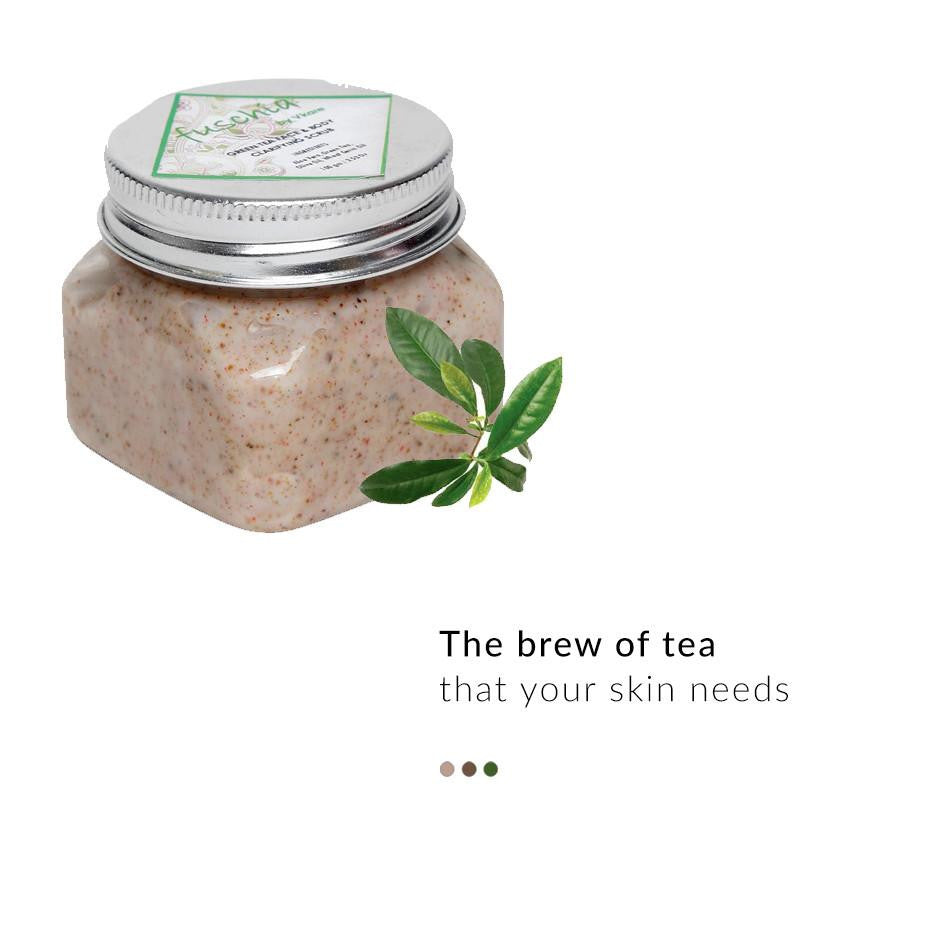 Bath & Body - Green Tea - Face & Body Clarifying Scrub