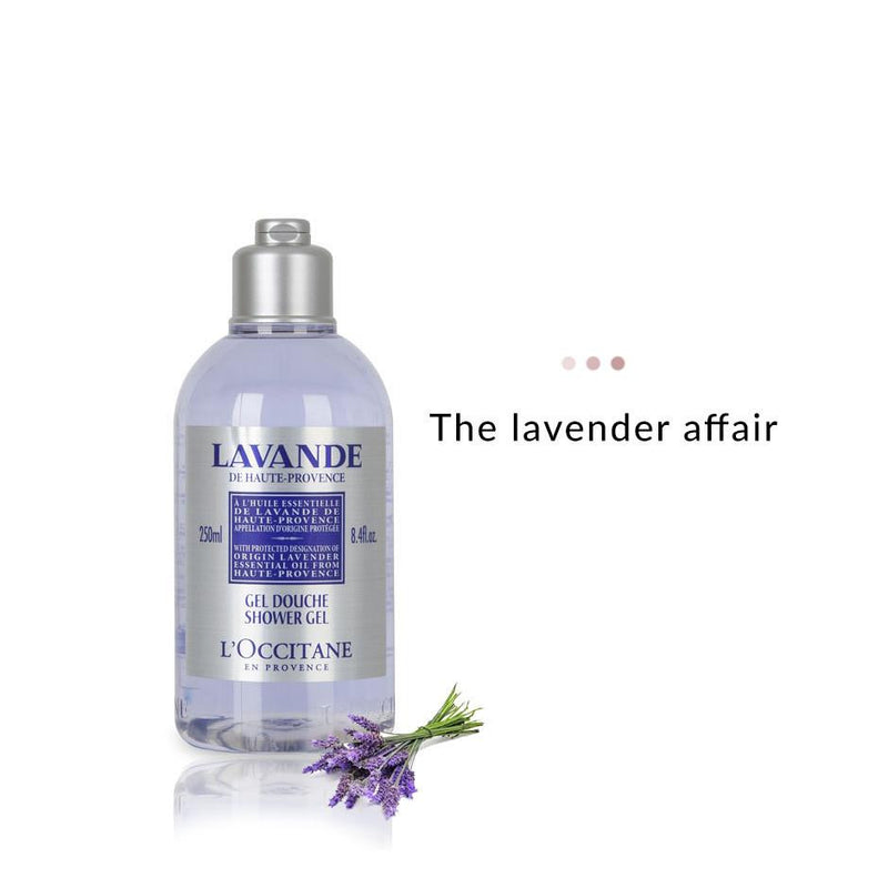 Bath & Body - Lavender Organic Shower Gel