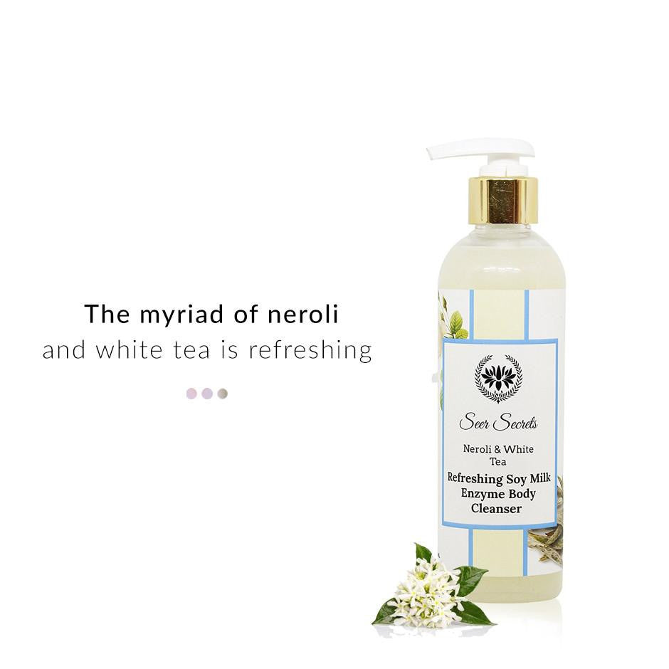 Bath & Body - Neroli & White Tea Refreshing Soy Milk Enzyme Body Cleanser