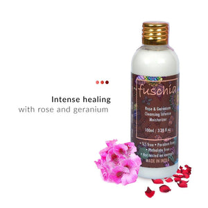 Rose & Geranium Cleansing Intense Moisturizer | Fuschia | Shop on Smytten