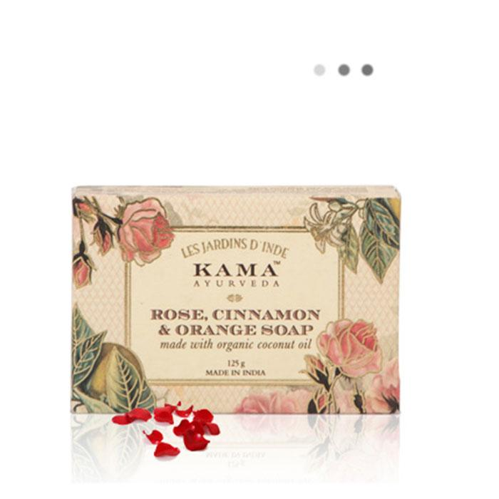 Bath & Body - Rose, Orange & Cinnamon Soap