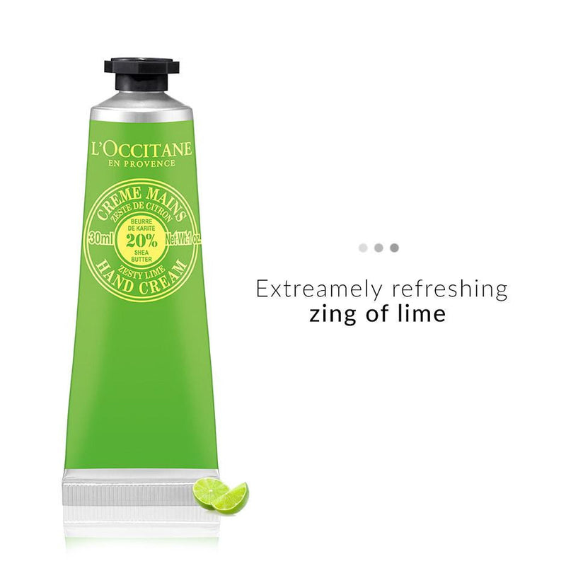 Bath & Body - Shea Zesty Lime Hand Cream